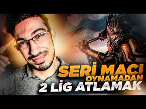 SERİ MAÇI OYNAMADAN 2 LİG ATLAMAK !