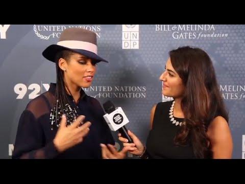 Alicia Keys: 2014 Social Good Summit