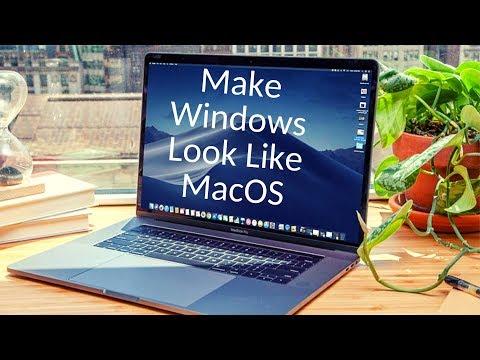 Make Windows Look Like MacOS - 2019