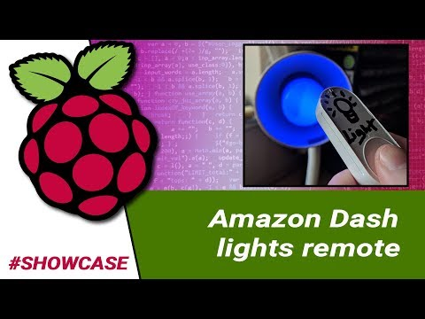 Raspberry Pi: Amazon Dash Smart Light Remote #showcase