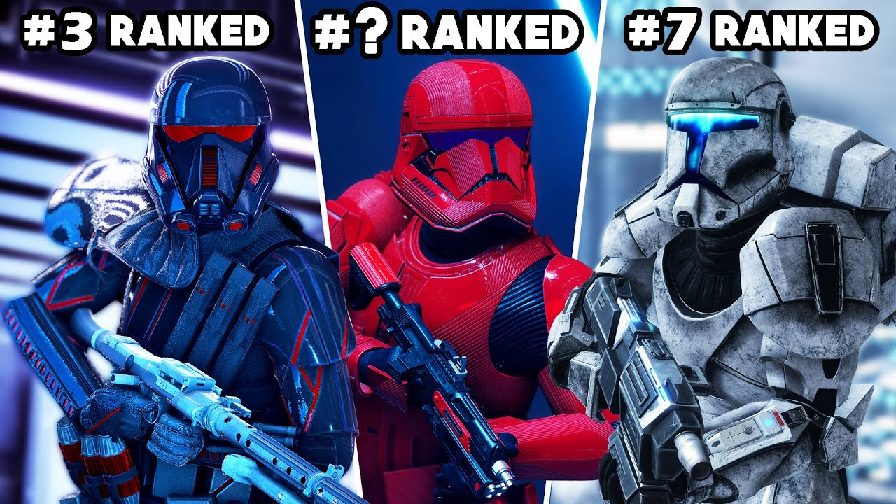 Battlefront 2 - Ranking EVERY REINFORCEMENT from WORST to BEST (FINAL UPDATE)