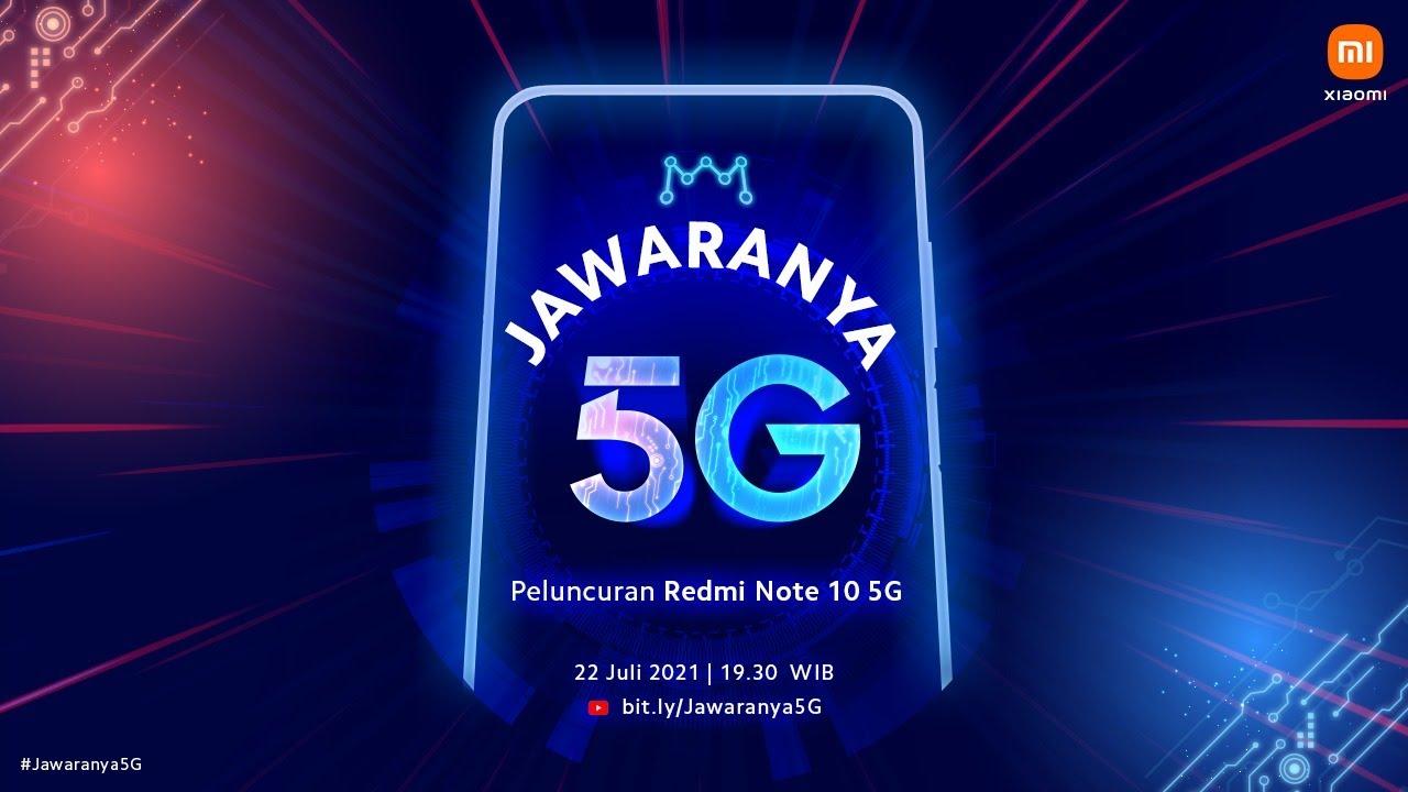 Peluncuran Redmi Note 10 5G dan Pendukung Produktivitas Lainnya