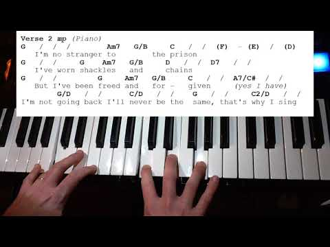 All My Hope (Crowder) Keys Tutorial In G
