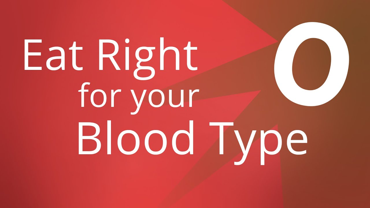Foods To Eat If Your Blood Type Is O