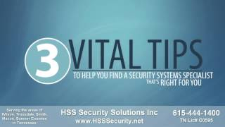 Security Systems Specialist Lebanon Tennessee