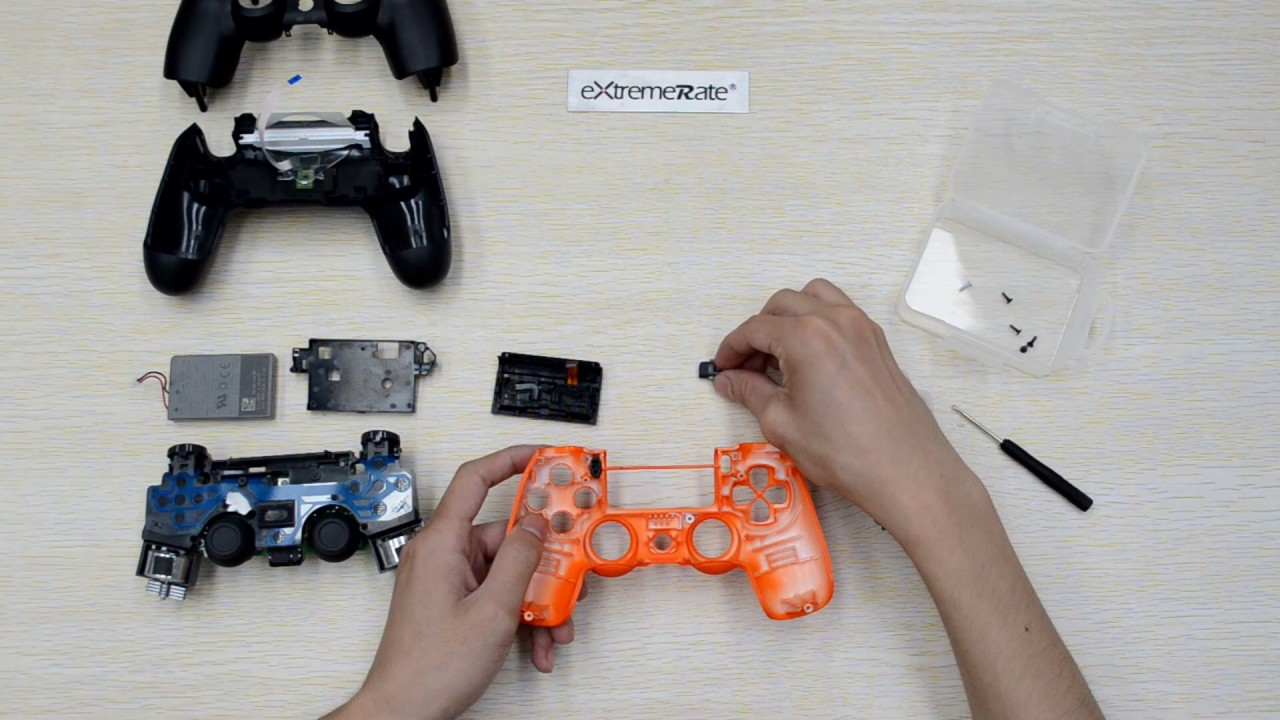 How to Custom Your PS4 Slim & PS4 Pro Controller Shell Model JDM 040 CUH  ZCT2 Gen 4 ExtremeRate