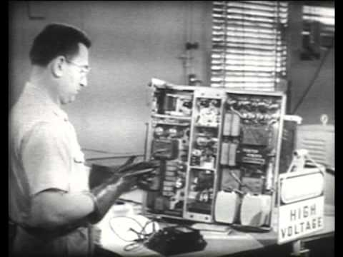 Safety Precautions for Electronic Personnel - US Navy training film 1951
