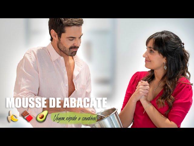 MOUSSE DE ABACATE - Vegan, rápida e saudável | Dr Hugo Madeira e Tâmara Castelo