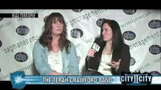 """The Terah Crawford Band - CityIICity """"Music in the Spotlight"""""""