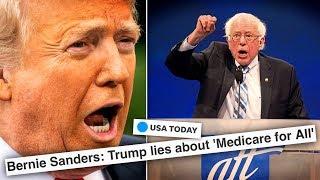 Bernie Sanders Shreds Trump's Anti-Medicare for All Fear-Mongering