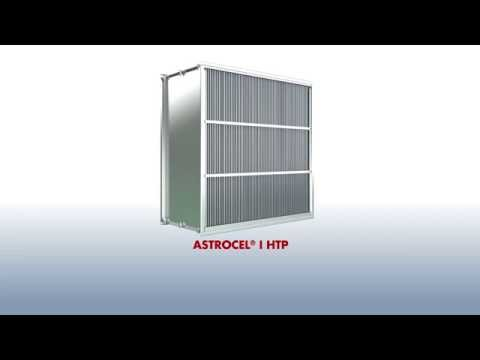 The AstroCel®  I HTP High Temperature HEPA Filter From AAF