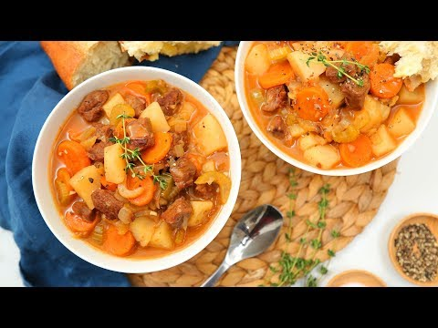 3 Hearty Stew Recipes | Classic Beef, Hearty Chicken, Vegan Mushroom