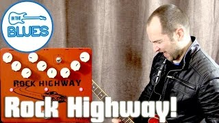 Movall Rock Highway 3 in 1 Overdrive, Distortion, & Delay Pedal