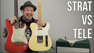 Telecaster vs Stratocaster - Which Guitar Do You like More? Marty's Thursday Gear