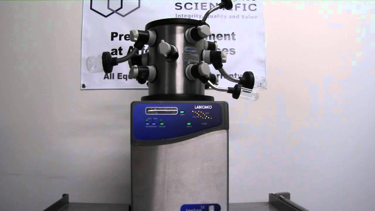 Marshall Scientific - Labconco 2 5L Freezone System