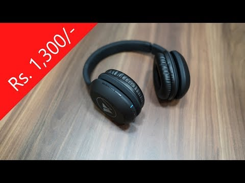 Wings Explorer Bluetooth Headphones With Mic Low Cost Budget Headphone Youtube
