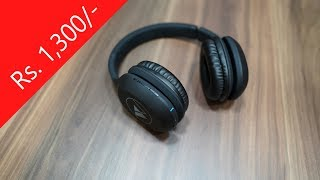 Wings Explorer Bluetooth Headphones with Mic low cost budget headphone?