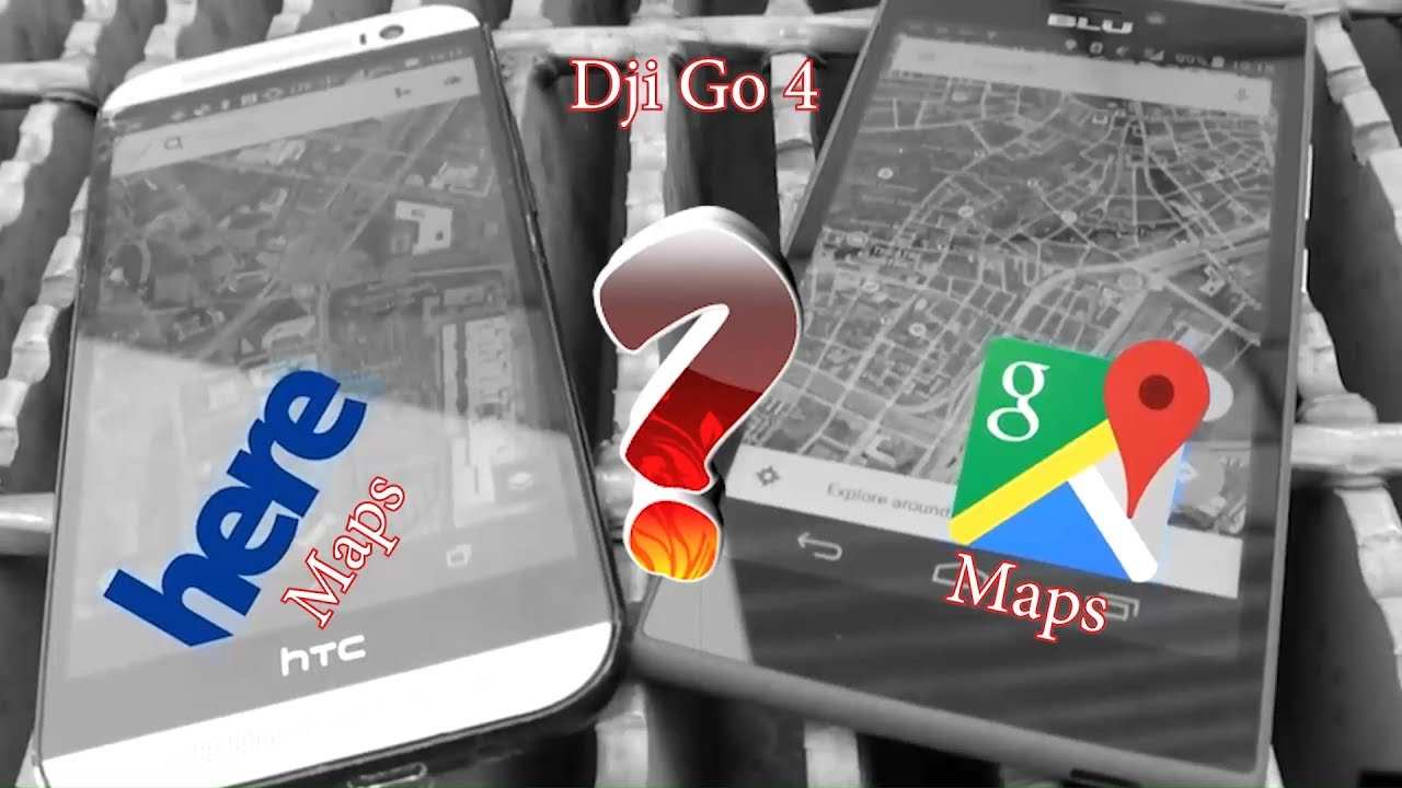 Dji go 4 app get back GOOGLE MAP!