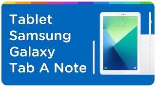 "Tablet Samsung Galaxy Tab A Note 16GB 10,1"" 4G Wi-Fi Android Proc. Octa Core Câmera 8MP + Frontal"