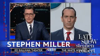 Stephen Miller Has A Bad Hair Day