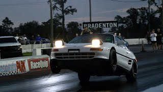 Twin Turbo Mr2 Makes Its First Pass In Florida!