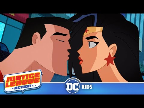 Justice League Action | Super Romantic! | DC Kids
