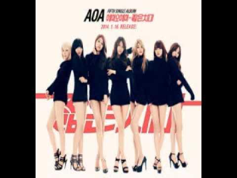 AOA Miniskirt-Chipmunks Version