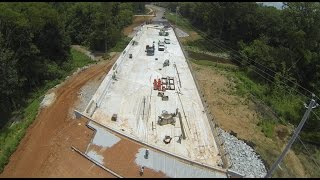 Old Madison Pike Road Construction Overflight: 17 July 15