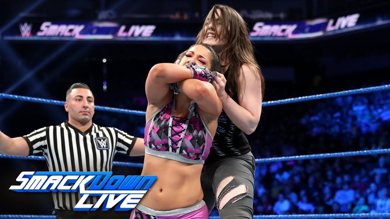 Bayley vs. Nikki Cross: SmackDown LIVE, June 11, 2019