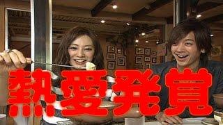 女優、北川景子(28)と歌手でタレントのDAIGO(36)が真剣交...