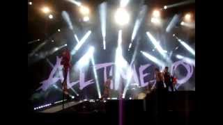 All Time Low - Dear Maria Count Me In LIVE 13th February 2015 @ Manchester Arena