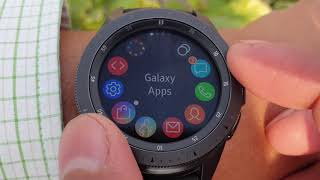 Samsung Galaxy Watch || How To Change Watch Face || Tips And Tricks ||