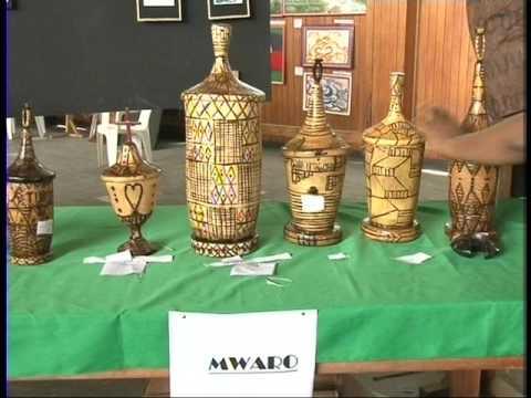 EXPOSITION OBJETS D'ART BURUNDI DEC 2016
