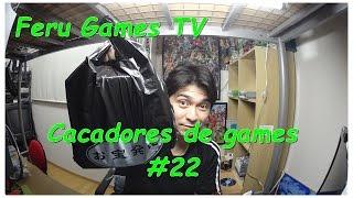 Caçadores de games # 22 (Pacotão de jogos PS2)
