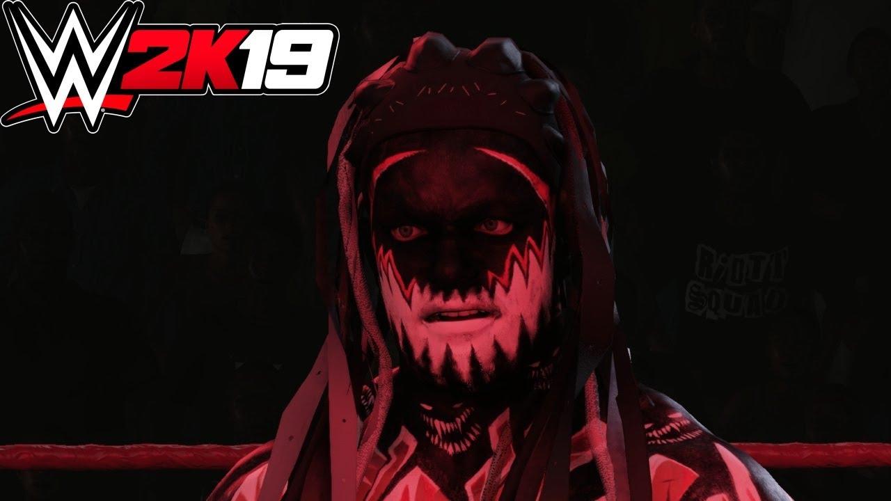 WWE 2K19 - Finn Balor Demon (Entrance, Signature, Finisher)