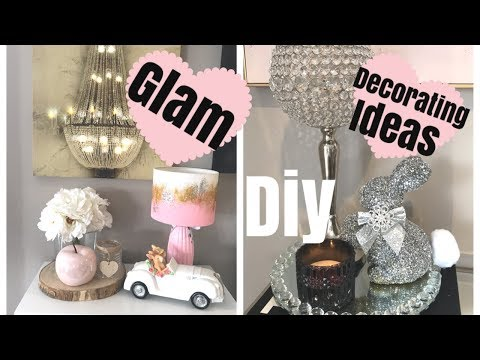 DIY GLAM DECOR ON A BUDGET