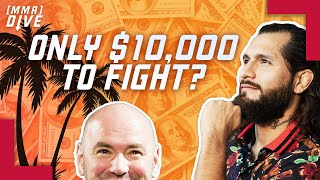 UFC Fighter Pay EXPOSED By Jorge Masvidal