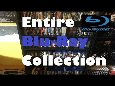 Entire Blu-Ray Collection 2017 - Justin