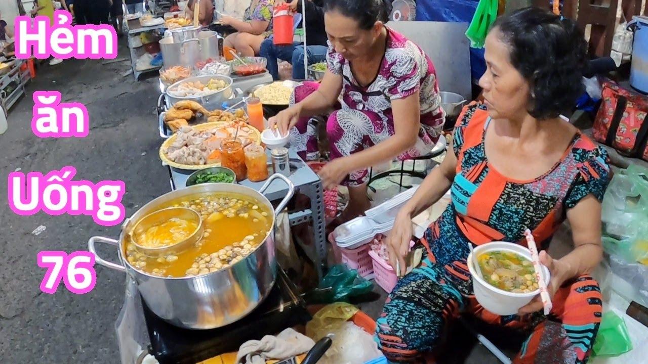 Lạc vào thiên đường ăn vặt gần 50 món ở trung tâm Sài Gòn ít người biết