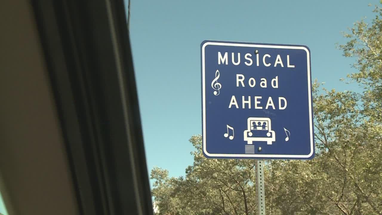 Singing Road Debuts In Nm Youtube