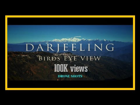 DARJEELING IN BIRD'S EYE 😍 | Darjeeling drone shots | Darjee