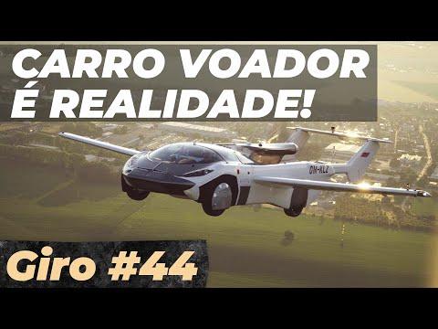 AIRCAR: O CARRO COM MAIS DE 40 HORAS DE VÔO! - #GiroDaSemana44