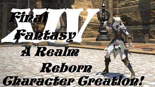FF 14 ARR: Yeni bir Karakter yaratalım!