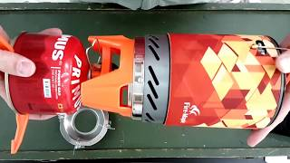 Fire maple fms-X2 Kocher fixed star x2 Jetboil Klon unboxing test deutsch outdoor Kochset