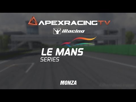 IRacing Le Mans Series 2019 S2/R2 - Monza