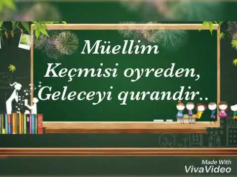 Müəllimlər gününüz mübarək!!!