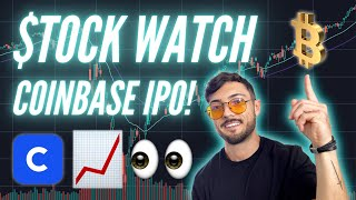Stocks To Watch THIS Week: Coinbase IPO! Bitcoin, $RIOT, $MARA, $CWRK, And $ALYI Price Prediction