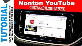 LAYAR TANPA KABEL All New Rush TRD Toyota Indonesia