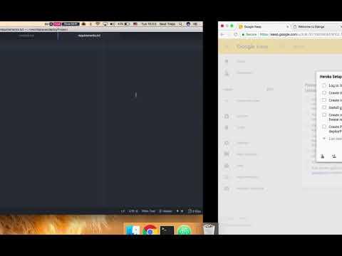How to Run a Django App on Heroku