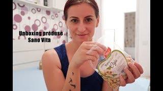 Unboxing produse Sano Vita